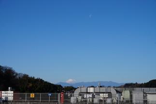 川崎から望む富士山