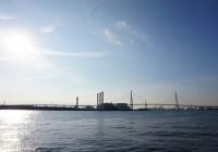 海芝浦駅からの眺め